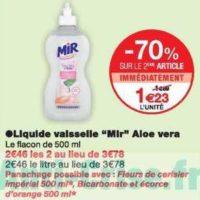 Liquide Vaisselle Mir chez Monoprix (04/12 – 15/12)