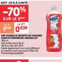 Liquide Vaisselle Mir chez Leader Price (10/12 – 24/12)