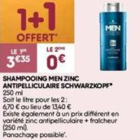 Shampoing Men Schwarzkopf chez Leader Price (17/12 – 24/12)