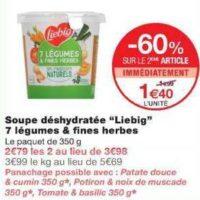 Soupe Déshydratée Cup Liebig chez Monoprix (04/12 – 15/12)