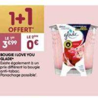 Bougie Parfumée Glade chez Leader Price (10/12 – 24/12)
