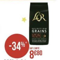 Café en Grains L'Or chez Géant Casino (09/12 – 14/12)