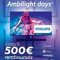 Offre de Remboursement Philips : Jusqu'à 200€ Remboursés sur TV OLED Ambilight