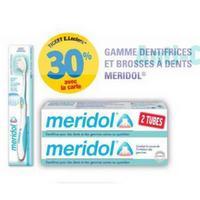 Dentifrice Parodont ou Protection Méridol chez Leclerc (03/12 – 16/12)