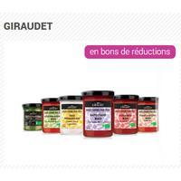 Offre de Remboursement Giraudet : Sauce Fraîche Cuisinée 100% Remboursé en 3 Bons