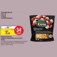 Ravioli Tomate Mozzarella Giovanni Rana chez Intermarché (10/12 – 15/12)