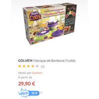 Bon Plan Goliath : Fabrique Kids Cook à 4,90€ chez Auchan (09/12 – 15/12)