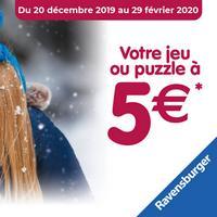 Offre de Remboursement Ravensburger : Jeu ou Puzzle à 5€