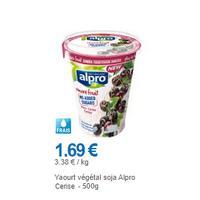 Pot Dessert Végétal Cerise Alpro chez Leclerc (01/12 – 31/12)