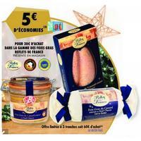 Foie Gras Reflets de France chez Carrefour (17/12 – 22/12)