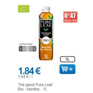 Thé Glacé à la Menthe Pure Leaf chez Leclerc (01/12 – 31/12)