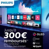 Offre de Remboursement Philips : Jusqu'à 300€ Remboursés sur Téléviseur OLED