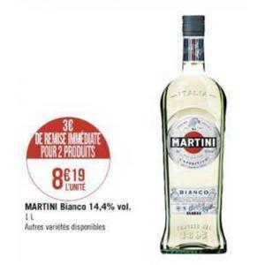 Apéritif Martini chez Casino (02/12 – 15/12)