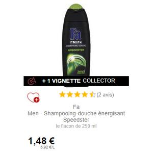 Shampooing-Douche Speedster Fa Men chez Intermarché (01/12 – 31/12)