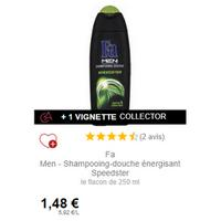 Shampooing-Douche Speedster Fa Men chez Intermarché (01/12 – 31/12)