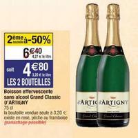 Boisson Sans Alcool D'Artigny chez Cora (03/12 – 09/12)