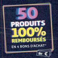 Auchan : 50 produits 100% Remboursés en Bon d'Achat Le 8 Janvier 2020