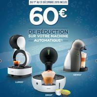Offre de Remboursement Krups : 60€ Remboursés sur Machine Dolce Gusto Automatique