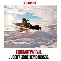 Offre de Remboursement Canon : Jusqu'à 300€ Remboursés sur une Sélection de Produits