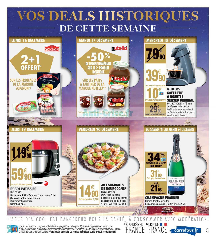 Carrefour Market Le Nouveau Catalogue Du 17 Au 31 Decembre 2019 Est Disponible Voici Les Dernieres Promos A Ne Pas Manquer