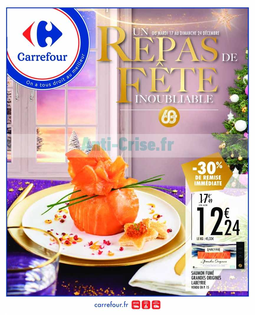 Catalogue Carrefour du 17 au 24 décembre 2019