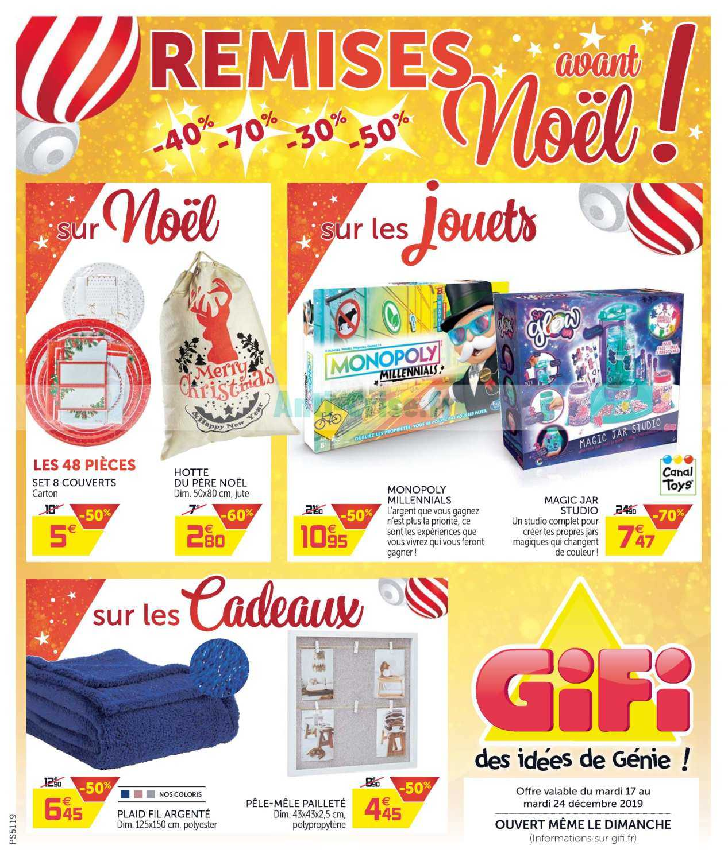 Catalogue Gifi Du 17 Au 24 Décembre 2019 Catalogues Promos