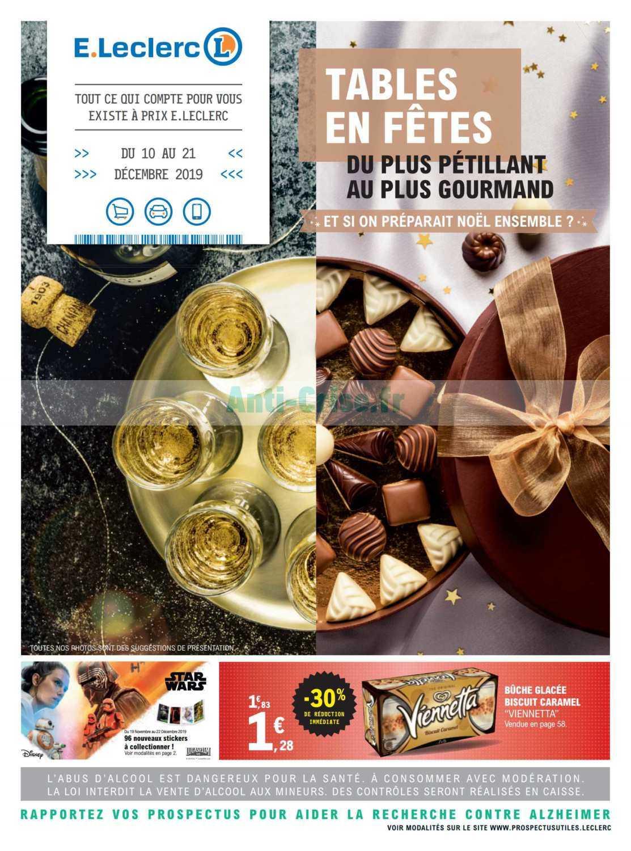 Catalogue Leclerc du 10 au 21 décembre 2019