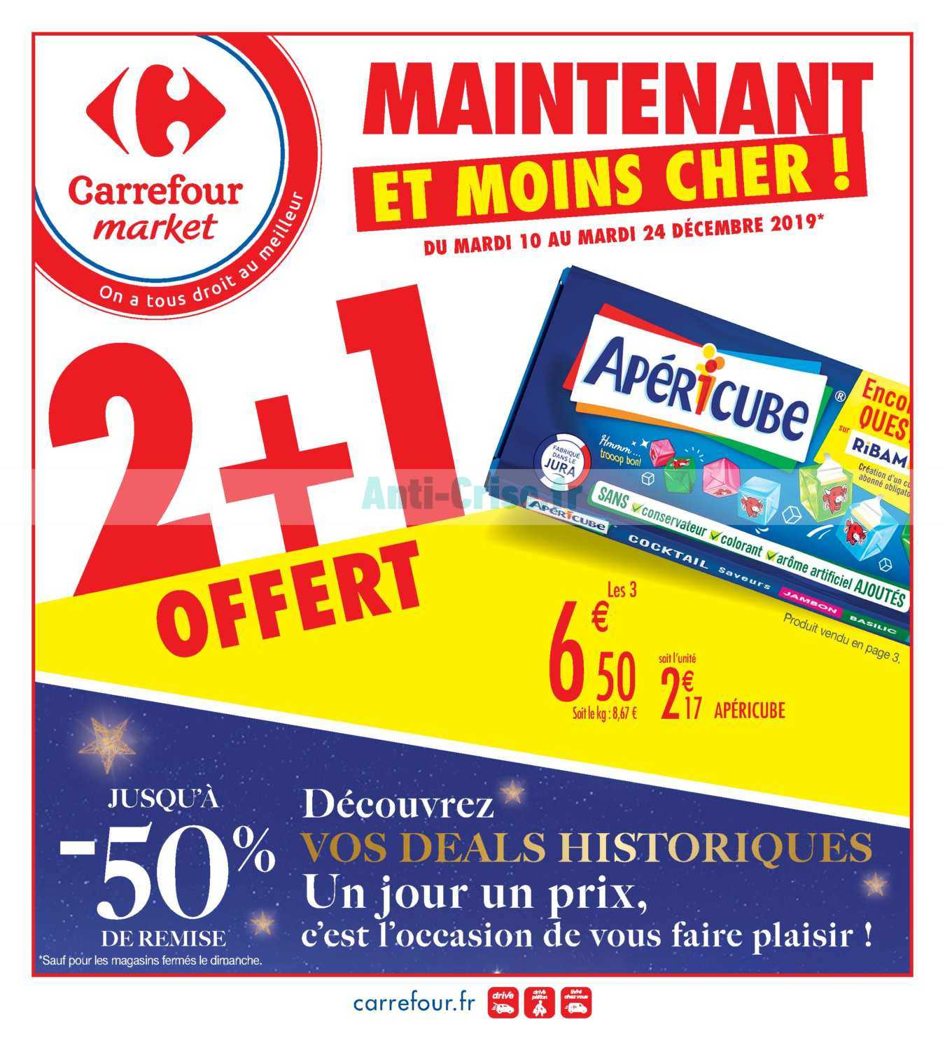 Catalogue Carrefour Market du 10 au 24 décembre 2019