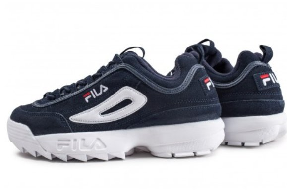 30€ les sneakers FILA DISRUPTOR Suede