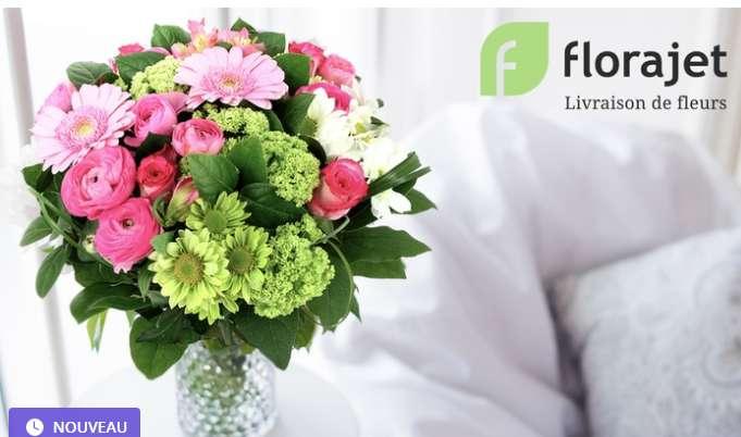 Florajet :  coupon de réduction de 9€ pour 1€