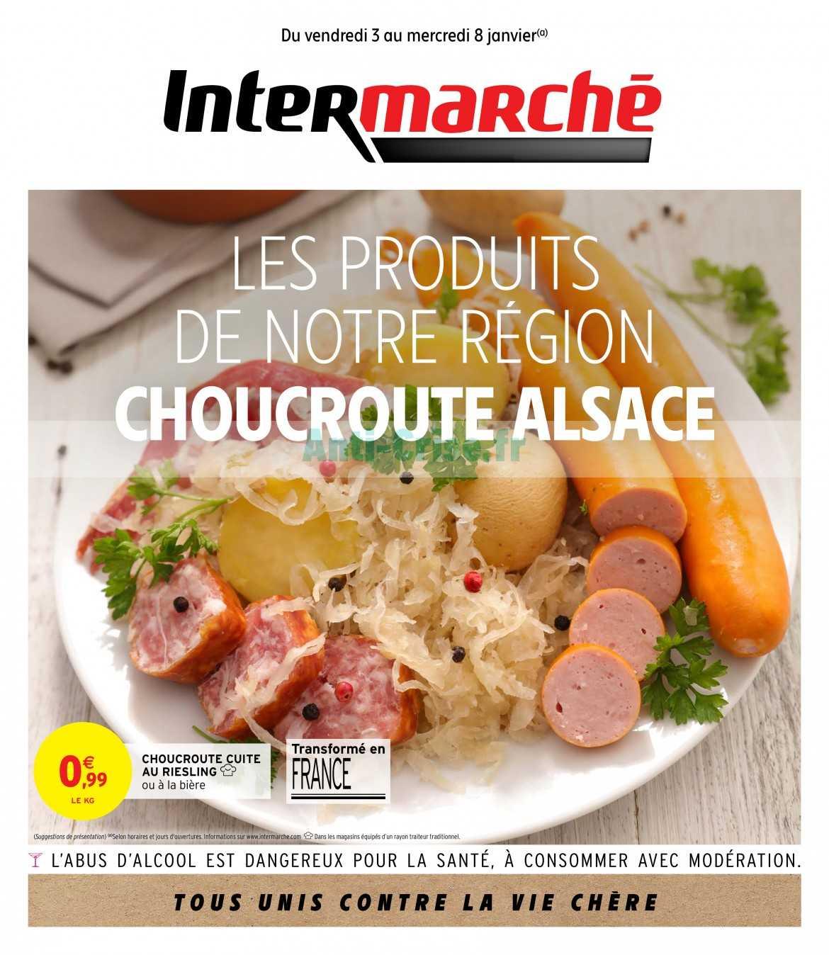 Catalogue Intermarche Du 03 Au 08 Janvier 2020 Centre Est Catalogues Promos Bons Plans Economisez Anti Crise Fr