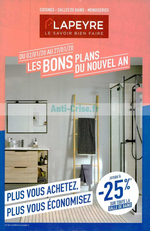 Catalogue Lapeyre Du 02 Au 27 Janvier 2020 Catalogues Promos