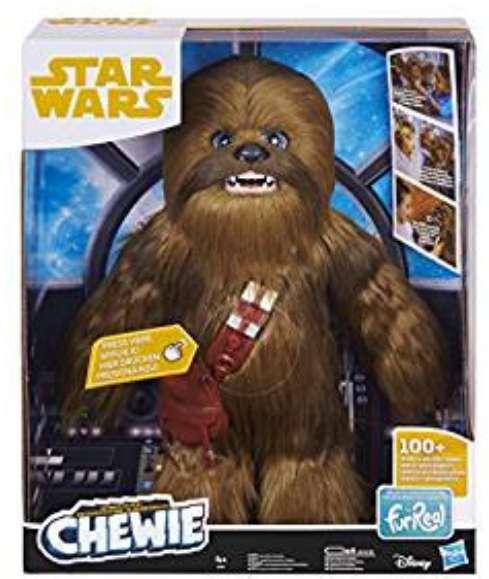 34,9€ la Peluche interactive FurReal Chewbacca