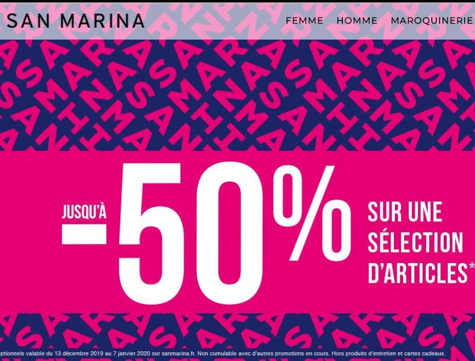 Présoldes San Marina : jusqu'à 50% de réduction