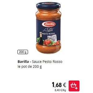 Pesto Rosso Barilla chez Intermarché (07/12 – 08/12)