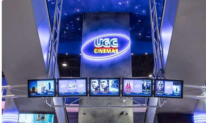 7,99€ les places de cinema dans les cinemas UGC de Belgique