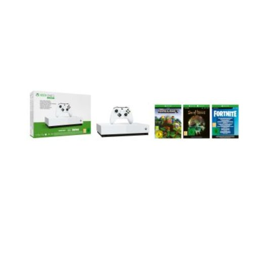 Moins de 100€ la console XBOX ONE S all digital + 3 jeux