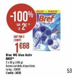 Bloc WC Bref chez Géant Casino (20/01 – 02/02)