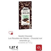 Tablette 115g les Recettes de l'Atelier Nestlé Partout