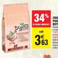 Croquettes pour chats Beyond chez Carrefour Market (28/01 – 02/02)