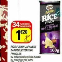 Biscuits Apéritif Rice Fusion Pringles chez Netto (21/01 – 02/02)