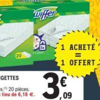 Lingettes Swiffer chez Leclerc (14/01 – 25/01)