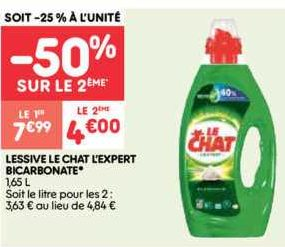 Lessive Liquide Le Chat chez Leader Price (21/01 – 26/01)