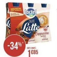 Boisson Caffé Latte Lactel chez Géant Casino (13/01 – 26/01)