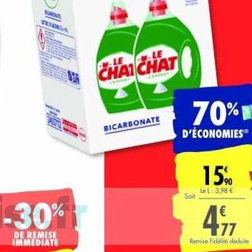 Lessive Liquide Le Chat chez Carrefour (14/01 – 27/01)
