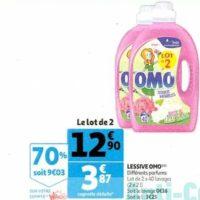 Lessive Liquide Omo chez Auchan (22/01 – 28/01)