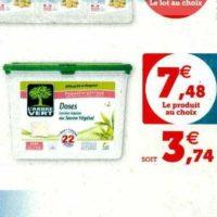 Lessive en Capsules L'arbre Vert chez Magasins U (28/01 – 08/02)
