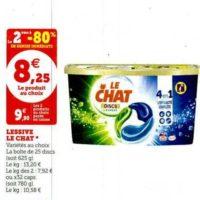 Lessive Discs Le Chat chez Magasins U (28/01 – 08/02)