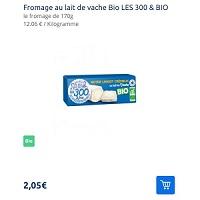 Fromage Le Lingot Crémeux Bio Les 300&bio Partout