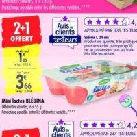 Mini Lactés Blédina chez Carrefour (14/01 – 03/02)